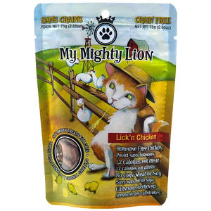 My Mighty Lion - Lick'n Chicken Cat Treats- Code#: PT507