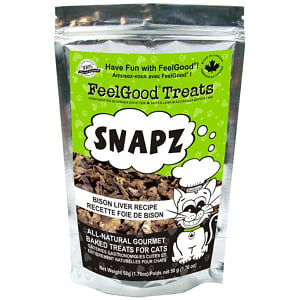 Snapz Treats: Bison Liver Cat Treats- Code#: PT521