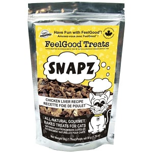 Snapz Treats: Chicken Liver Cat Treats- Code#: PT522