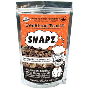Snapz Treats: Wild Pacific Salmon Cat Treats- Code#: PT523