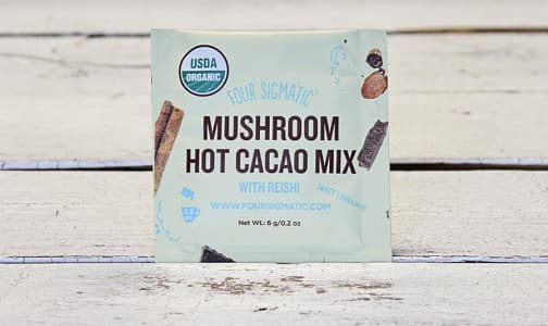 Organic Hot Cocoa + Reishi Single- Code#: PC0551