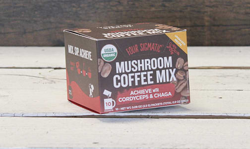 Organic Mushroom Coffee with Cordyceps and Chaga Box- Code#: PC0567