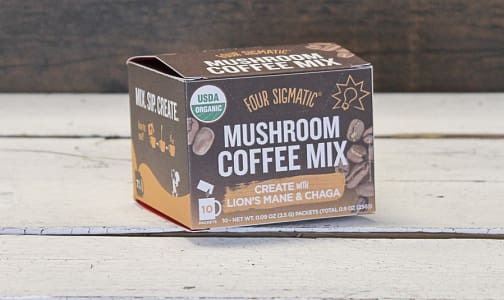 Organic Coffee Lions Mane Chaga Box- Code#: PC0569