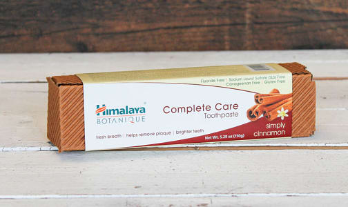 Organic Complete Care Toothpaste Cinnamon- Code#: PC0619