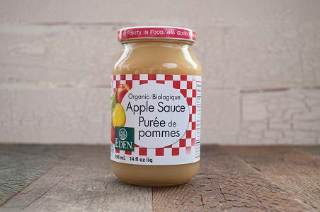 Organic Apple Sauce, Unsweetened- Code#: SA0020