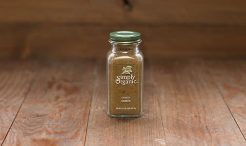 Organic Ground Cumin Seed, in Glass Bottle- Code#: SA0134