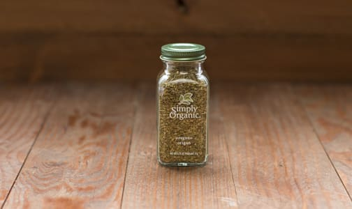 Organic Oregano Leaf in Glass Bottle- Code#: SA0140