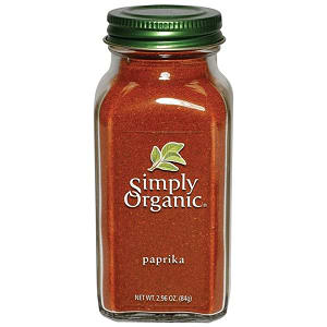 Organic Paprika in Glass Bottle- Code#: SA0143