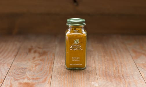 Organic Ground Turmeric Root in Glass Bottle- Code#: SA0152