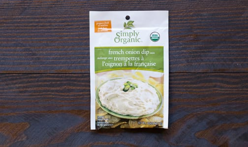 Organic French Onion Dip Mix- Code#: SA021