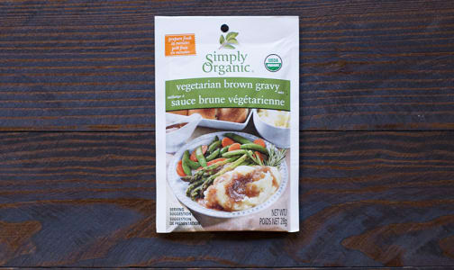 Organic Vegetarian Brown Gravy Mix- Code#: SA022