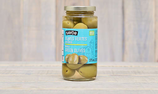 Whole Halkidiki Green Olives- Code#: SA0265