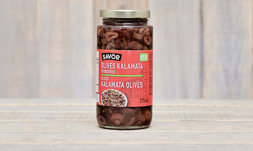 Kalamata Olives - Sliced- Code#: SA0268