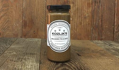 Balsamic Fig % Date Mustard- Code#: SA0277