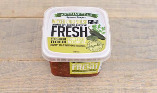 Mild Cilantro- Wicked Chili Salsa- Code#: SA0319
