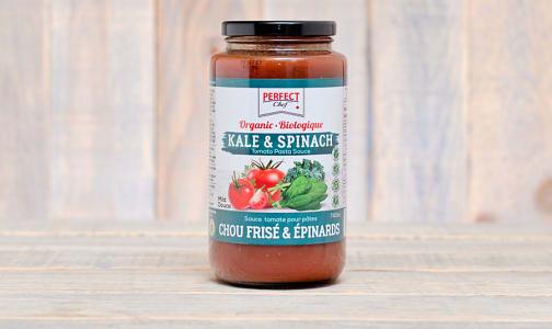 Organic Kale & Spinach Pasta Sauce- Code#: SA0323