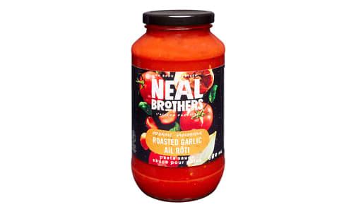 Organic Roasted Garlic Pasta Sauce- Code#: SA0384