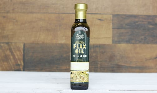 Organic Cold Pressed Flaxseed Oil- Code#: SA0444