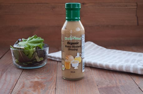 Organic Honey Mustard Dressing- Code#: SA044