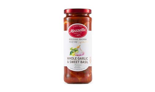 Whole Garlic & Basil Marinara- Code#: SA0498