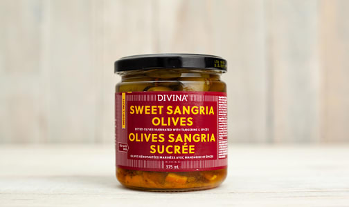 Sweet Sangria Bar Olives- Code#: SA0519