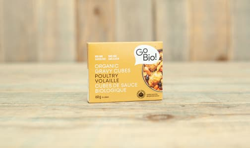 Organic Poultry Gravy Cubes- Code#: SA0553