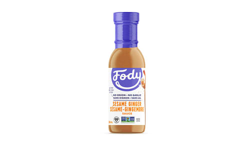 Sesame Ginger Sauce and Marinade - Low FODMAP!- Code#: SA0605