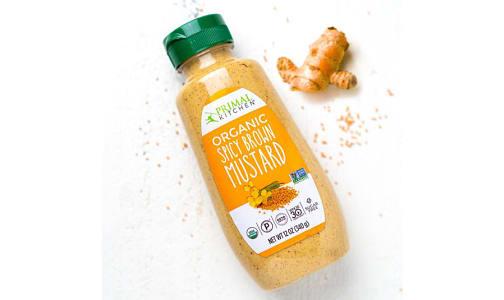 Organic Spicy Brown Mustard- Code#: SA0628