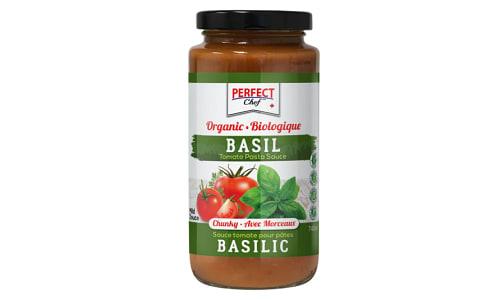 Organic Basil Pasta Sauce- Code#: SA0673