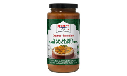 Organic Vegetarian Curry Sauce - Medium Heat- Code#: SA0698