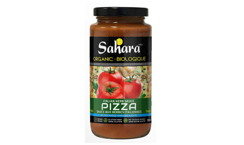Organic Italian Herbs Mild Pizza Sauce - No Salt- Code#: SA0726