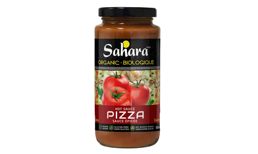 Organic Hot Pizza Sauce- Code#: SA0727