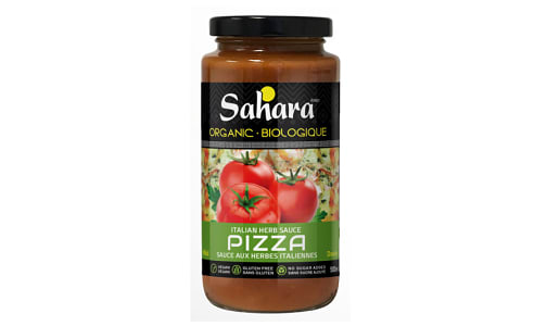 Organic Italian Herbs Mild Pizza Sauce- Code#: SA0728