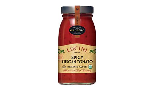 Organic Spicy Tuscan Tomato Sauce- Code#: SA0769