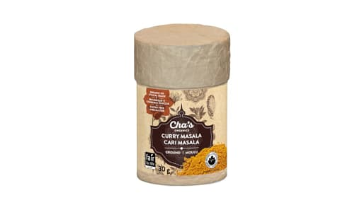 Organic Curry Masala, Ground- Code#: SA0797