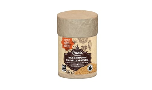 Organic Cinnamon, Ground- Code#: SA0824