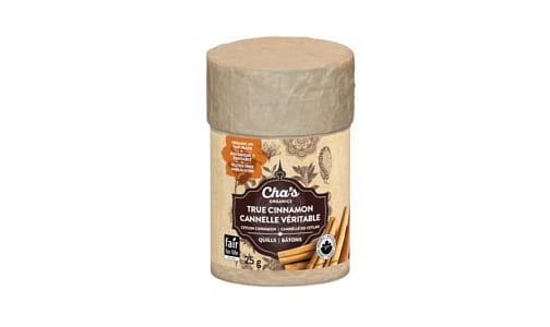 Organic True Cinnamon, Quills- Code#: SA0834