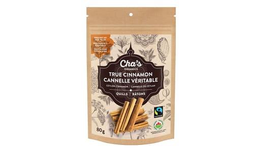 Organic True Cinnamon, Quills- Code#: SA0842