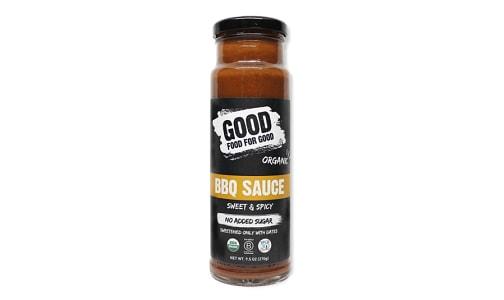 Organic Sweet & Spicy BBQ Sauce- Code#: SA0907