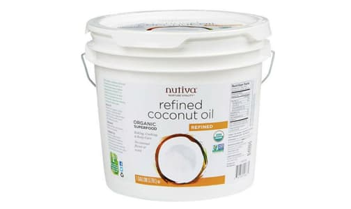 Organic Refined Coconut Oil- Code#: SA0935