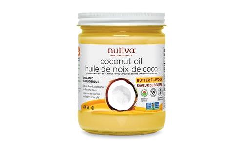 Organic Coconut Oil Buttery Flavor- Code#: SA0936