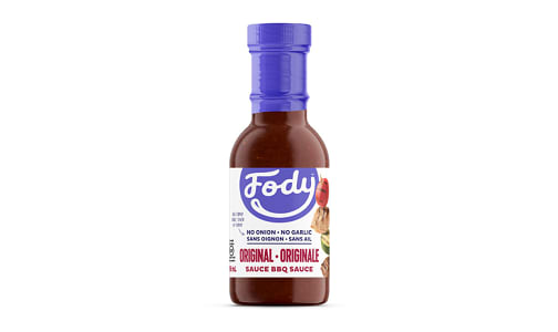 Original Bbq Sauce - Low FODMAP!- Code#: SA1008
