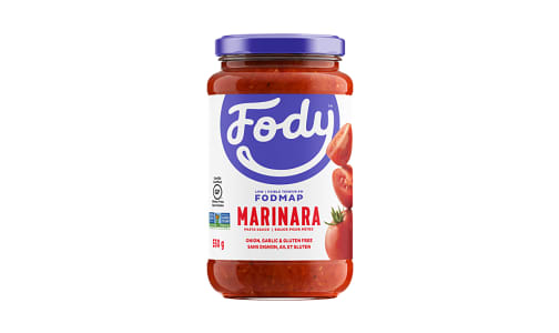 Marinara Sauce - Low FODMAP!- Code#: SA1009