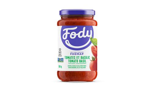 Tomato Basil Sauce - Low FODMAP!- Code#: SA1010