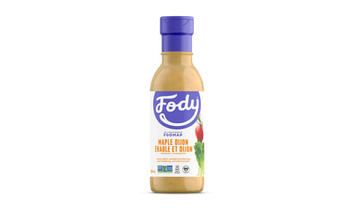 Maple Dijon Salad Dressing - Low FODMAP!- Code#: SA1015
