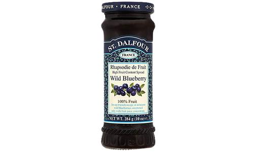 Wild Blueberry Jam Preserve- Code#: SA1027