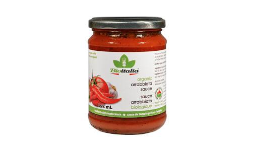 Organic Tomato Sauce with Chili- Code#: SA1037