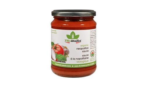 Organic Neapolitan Tomato Sauce- Code#: SA1038