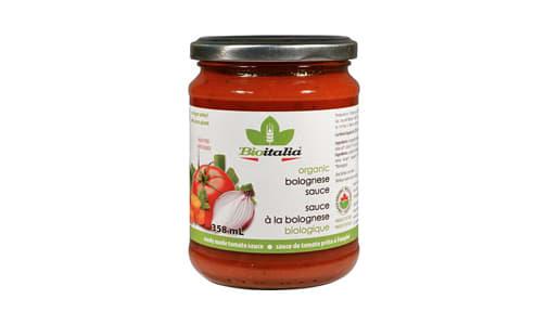 Organic Bolognese Sauce- Code#: SA1039