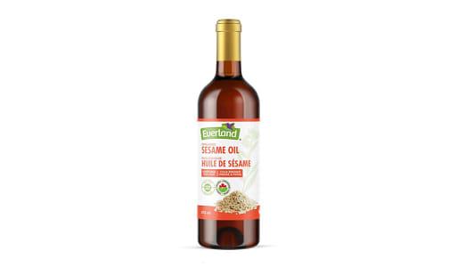 Organic Sesame Oil (expeller pressed)- Code#: SA1117